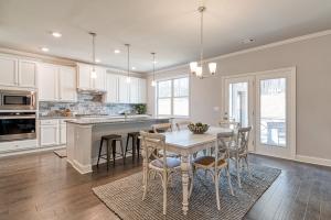 New home floor plan by Chafin Communities The Brunswick II Model at Mallards Landing