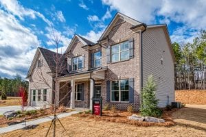 New home floor plan by Chafin Communities The Brunswick II Model at Mallards Landing