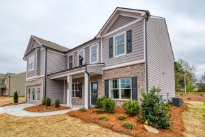 Hammond - Chafin Communities - Front - Model Home at Brookfield Farm