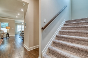 26 Brookfield - Chafin Communities - Mud Room to Stairs