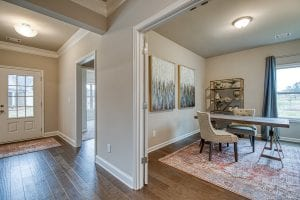 7 Brookfield - Chafin Communities - Study with opt. doors to foyer