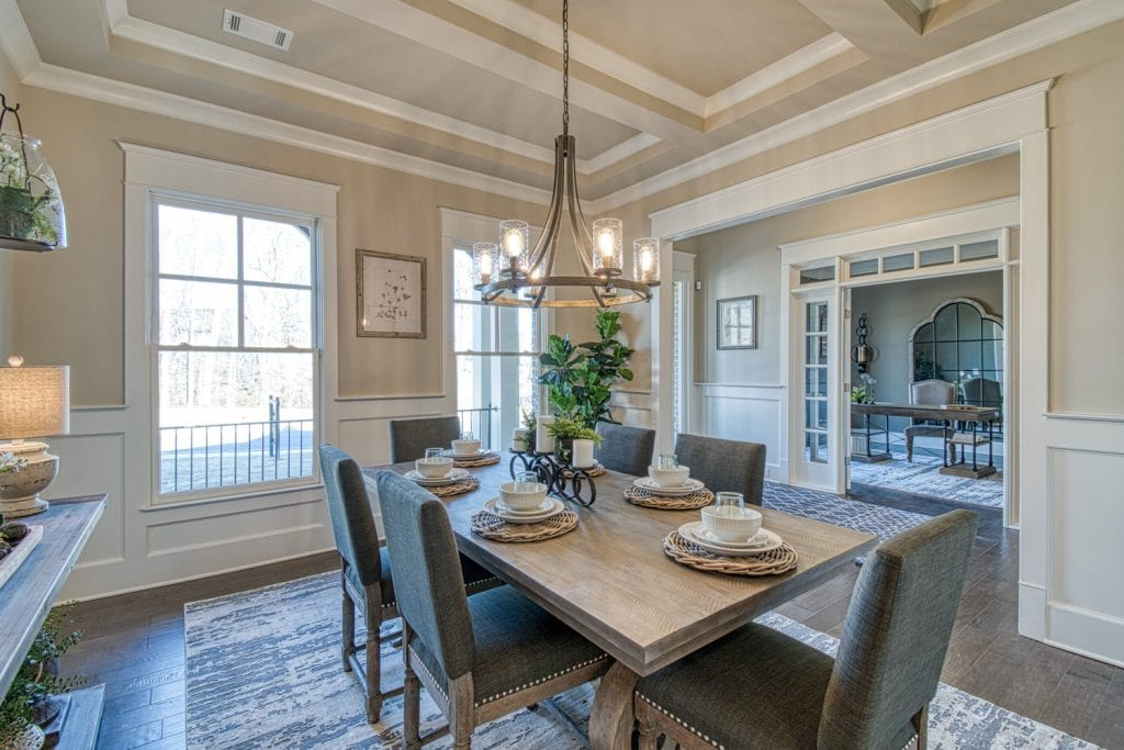Bentley - Chafin Communities - Dining to Foyer