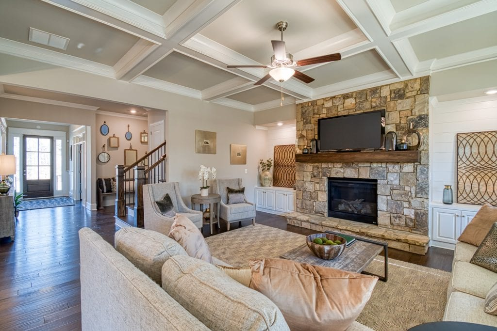 Bentley - Chafin Communities - Great Room to Foyer