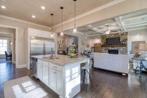 Bentley - Chafin Communities - Kitchen to Great Room 2