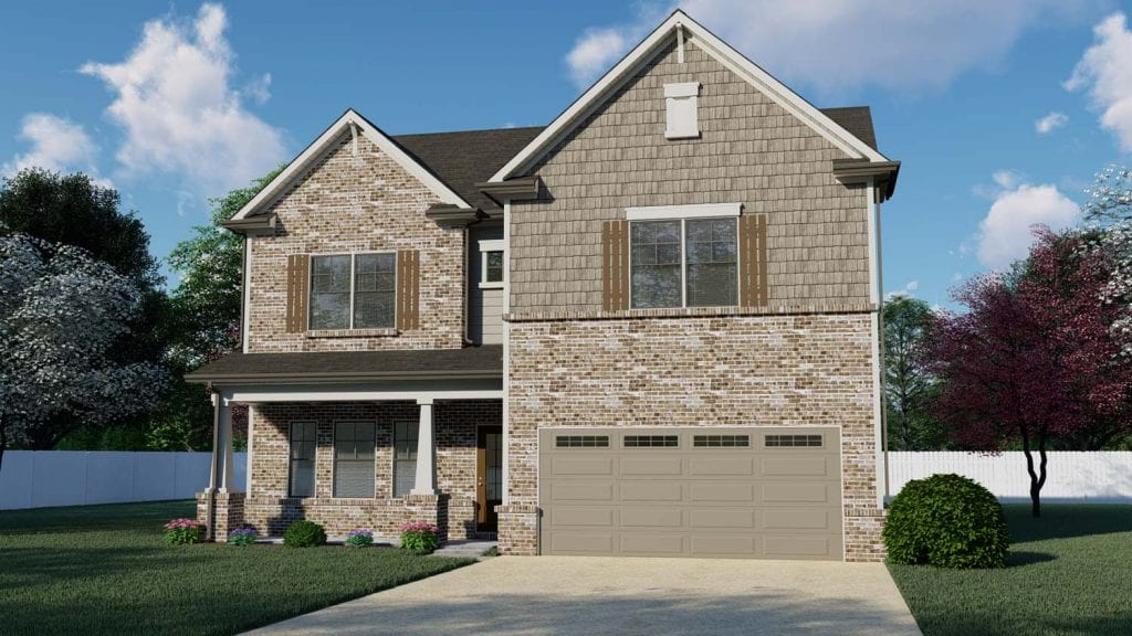 Callington Floorplan | Beds: 4 | Baths: 2.5 Stories: 2  | Sqft: 2435