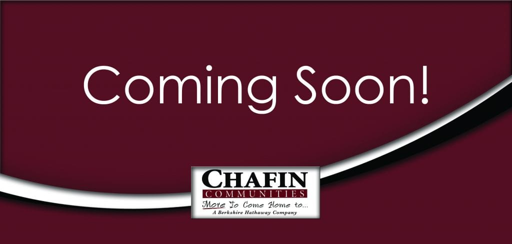 Chafin Communitues Coming Soon