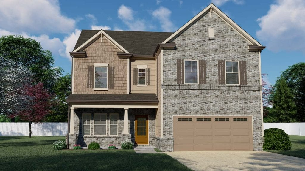 Colburn Floorplan | Beds: 4 - 6 | Baths: 3 - 4 Stories: 2  | Sqft: 2800