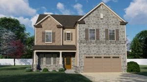 Colburn Plan by Chafin Communities 2020-Elevation Color