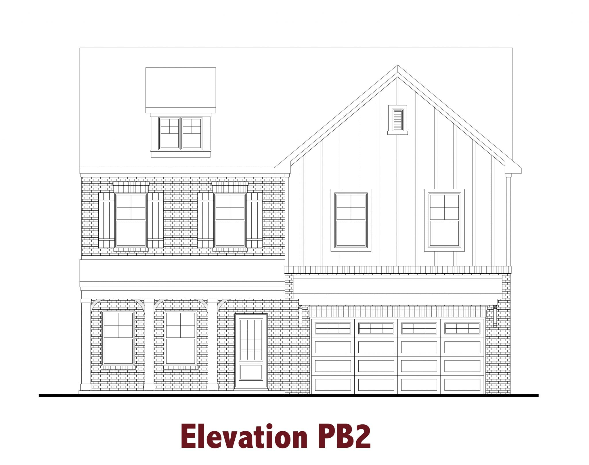 Colburn elevations Image