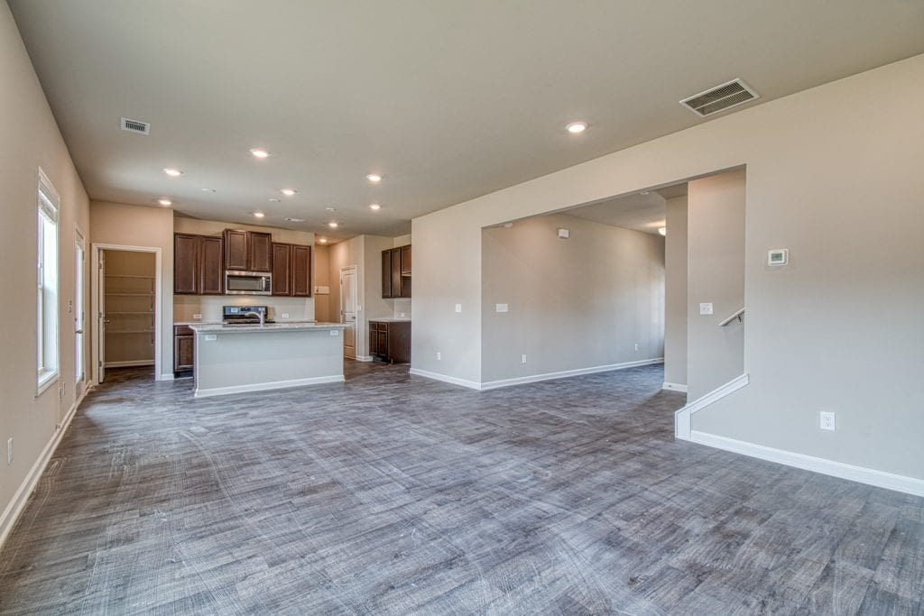 Glendale - Chafin Communities - Great Room to Kitchen