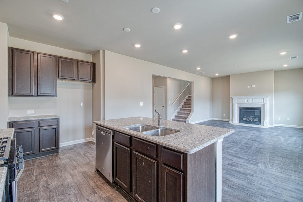 Glendale - Chafin Communities - Kitchen to Great Room