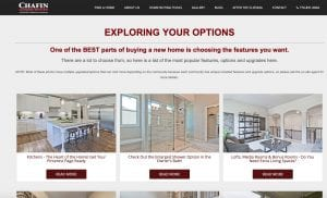 Explore Your Options with a Chafin Home