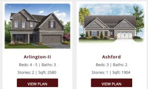 Search Chafin Homes by Floor Plan