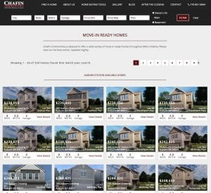 Search Chafin's Move In Ready Homes
