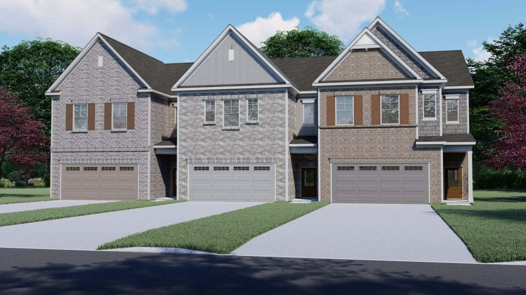 Clayton Floorplan | Beds: 3 | Baths: 2.5 Stories: 2  | Sqft: 2020
