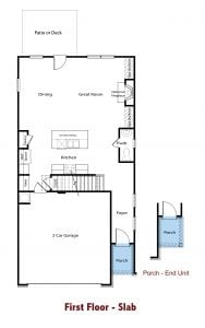 Clayton-Townhome-Plan-by-Chafin-Communities-2020-First-Floor
