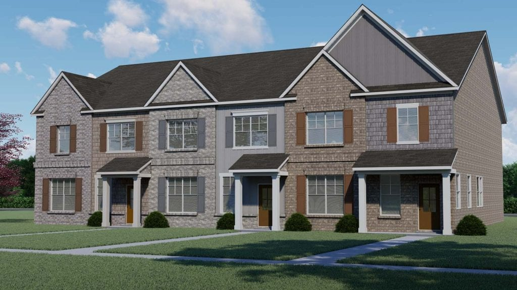 Meadows Floorplan | Beds: 3 | Baths: 2.5 Stories: 2  | Sqft: 2189
