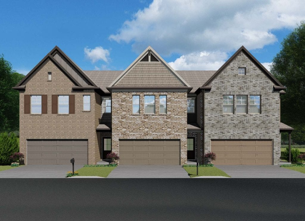 Medlock Floorplan | Beds: 3 | Baths: 2.5 Stories: 2  | Sqft: 1850