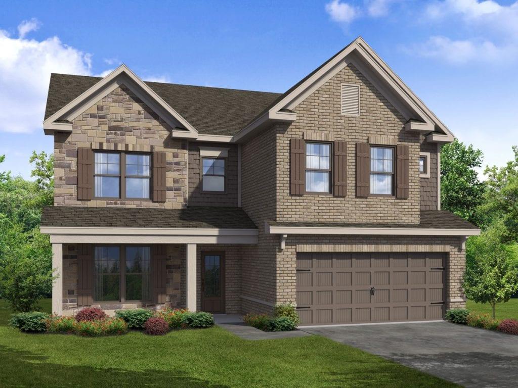 Mulberry-I Floorplan | Beds: 4 - 5 | Baths: 3 Stories: 2  | Sqft: 2700