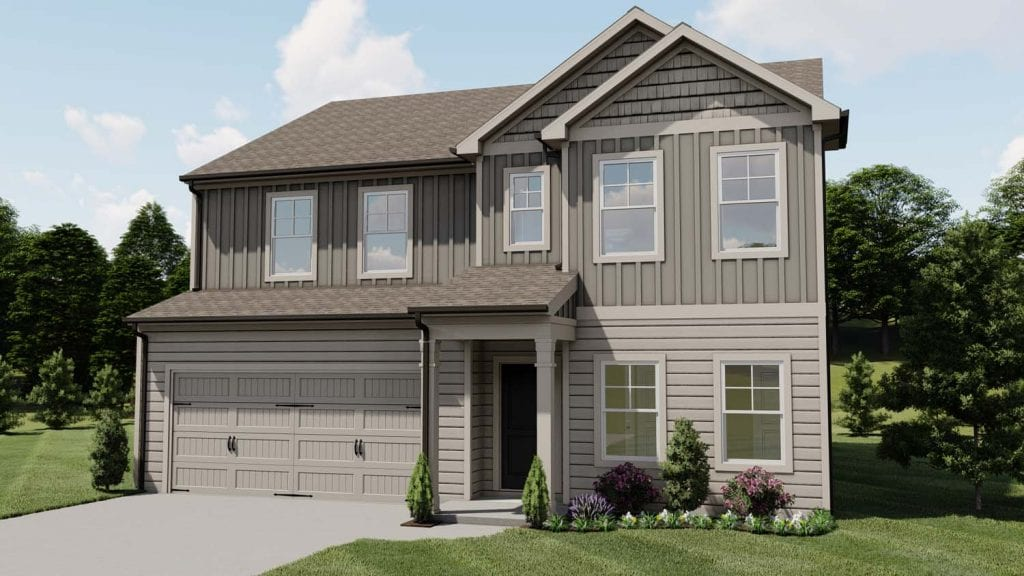 Paterson Floorplan | Beds: 3 - 5 | Baths: 2.5 - 3 Stories: 2  | Sqft: 2630