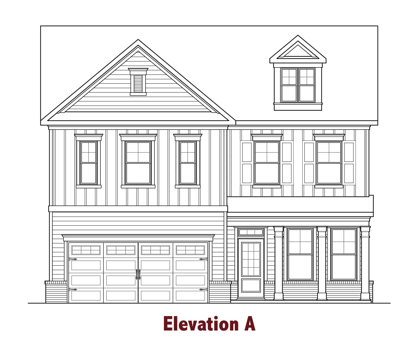 Peachtree elevations Image