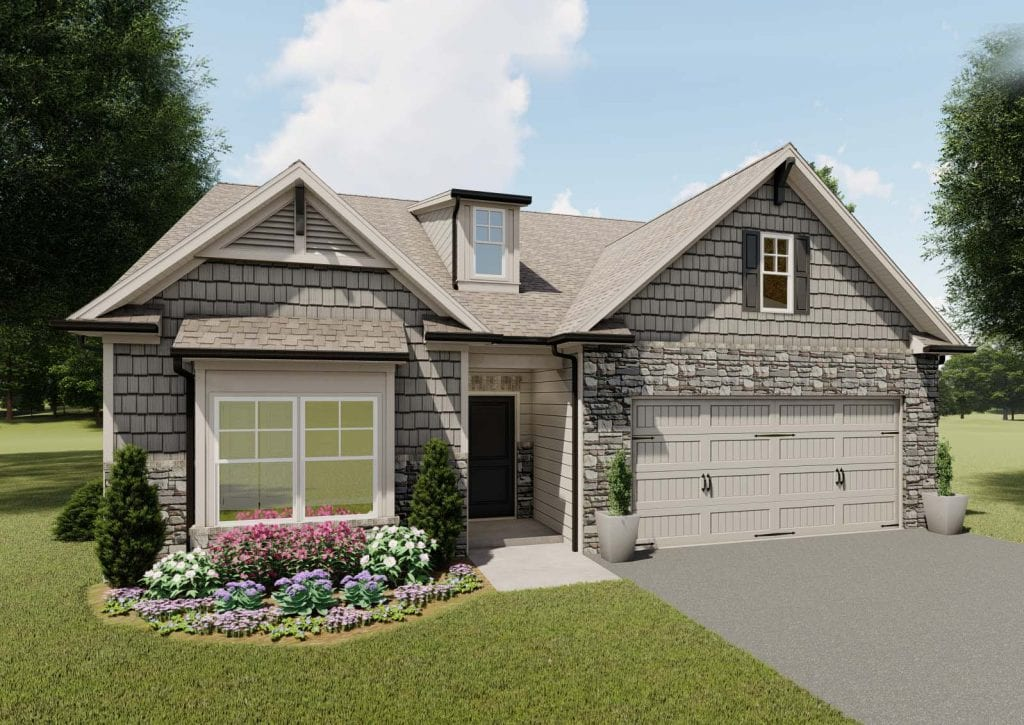 Pebble Creek Floorplan | Beds: 3 | Baths: 2 Stories: 1  | Sqft: 2003