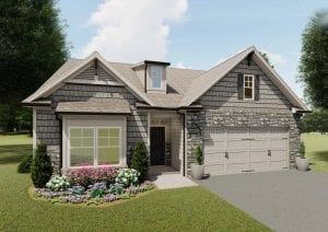 Pebble Creek Plan by Chafin Communities 2020-Elevation Color