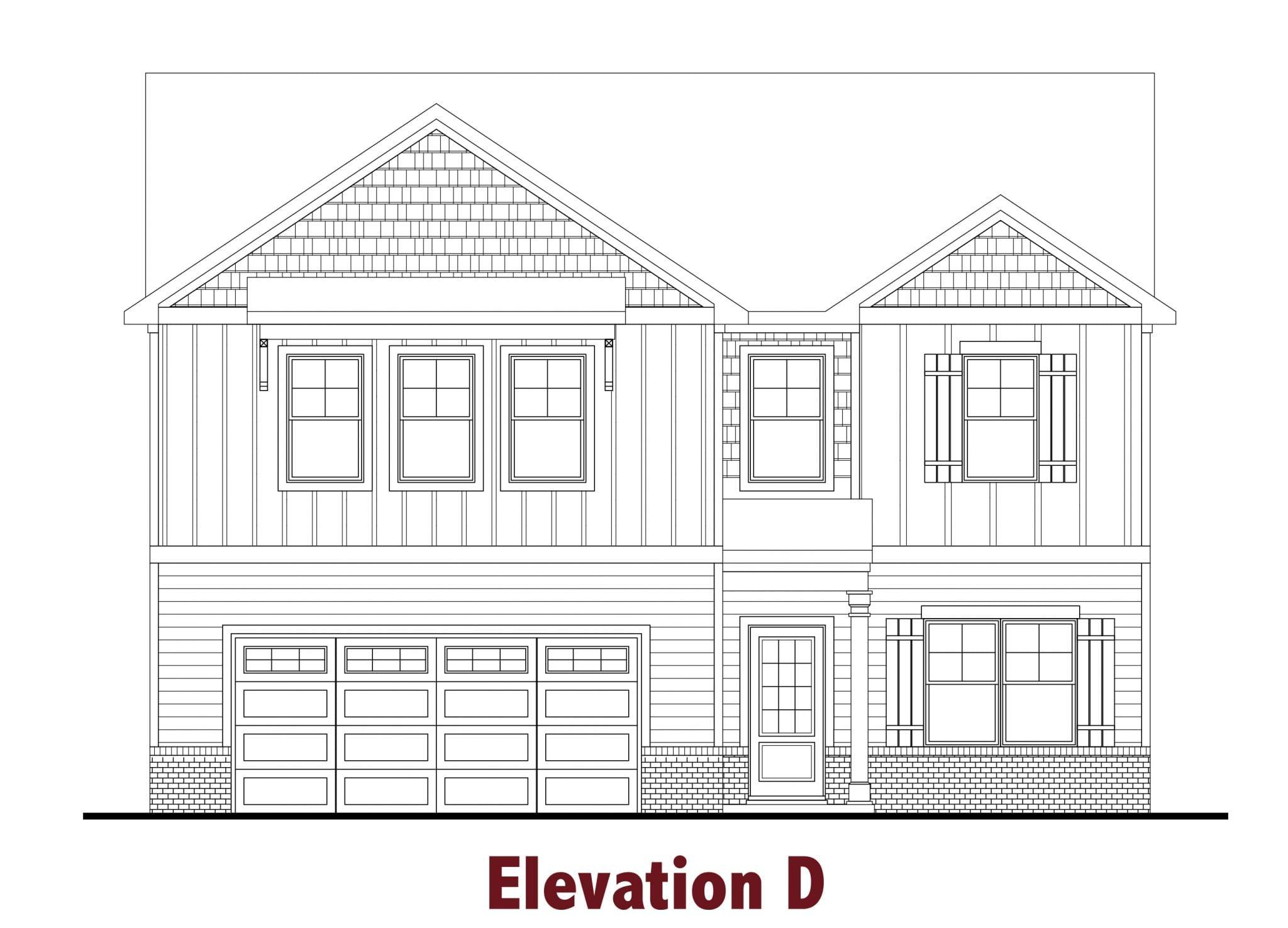 Redford elevations Image