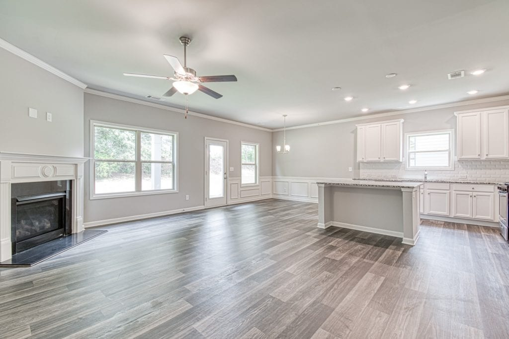 Avery - Chafin Communities - Great Room to Kitchen