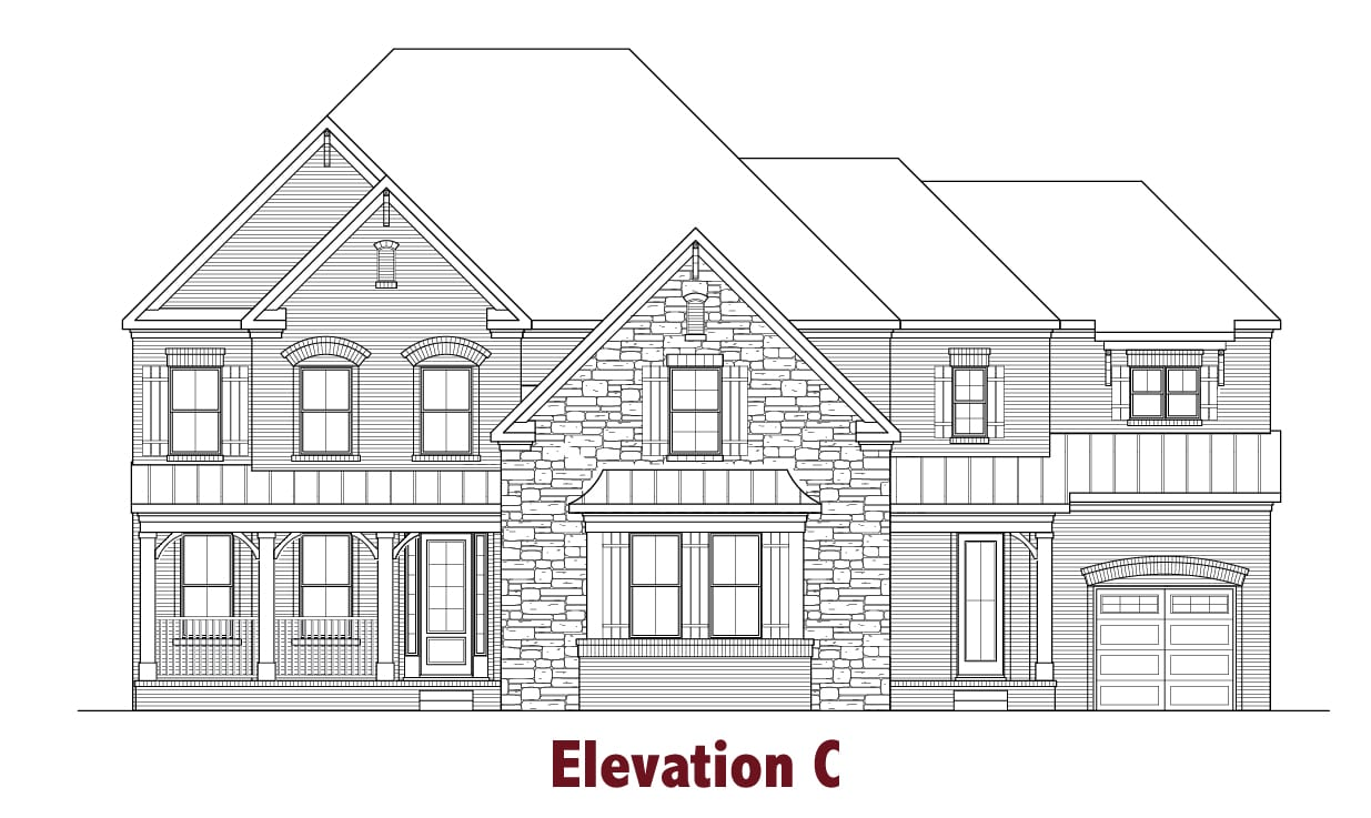 Sherwood elevations Image