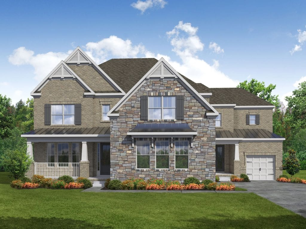 Sherwood Floorplan | Beds: 5 | Baths: 4.5 Stories: 2  | Sqft: 4600