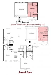 Sherwood Plan by Chafin Communities 2020-Second Floor