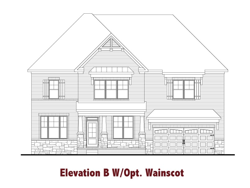 Glenbrooke elevations Image