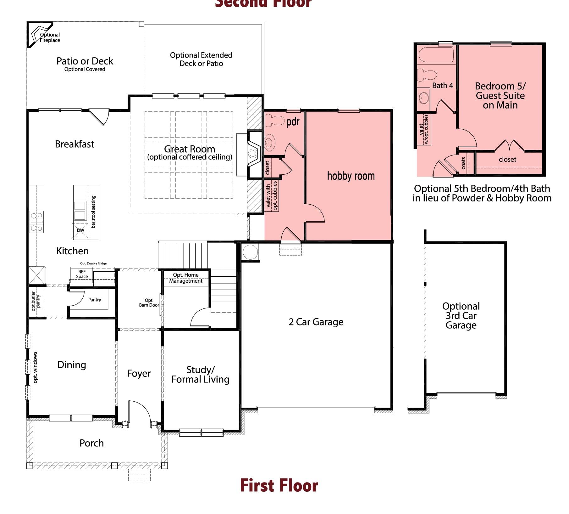 Glenbrooke plans Image