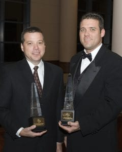 OBIE Awards Chafin Communities photo of Eric and Daryl Chafin