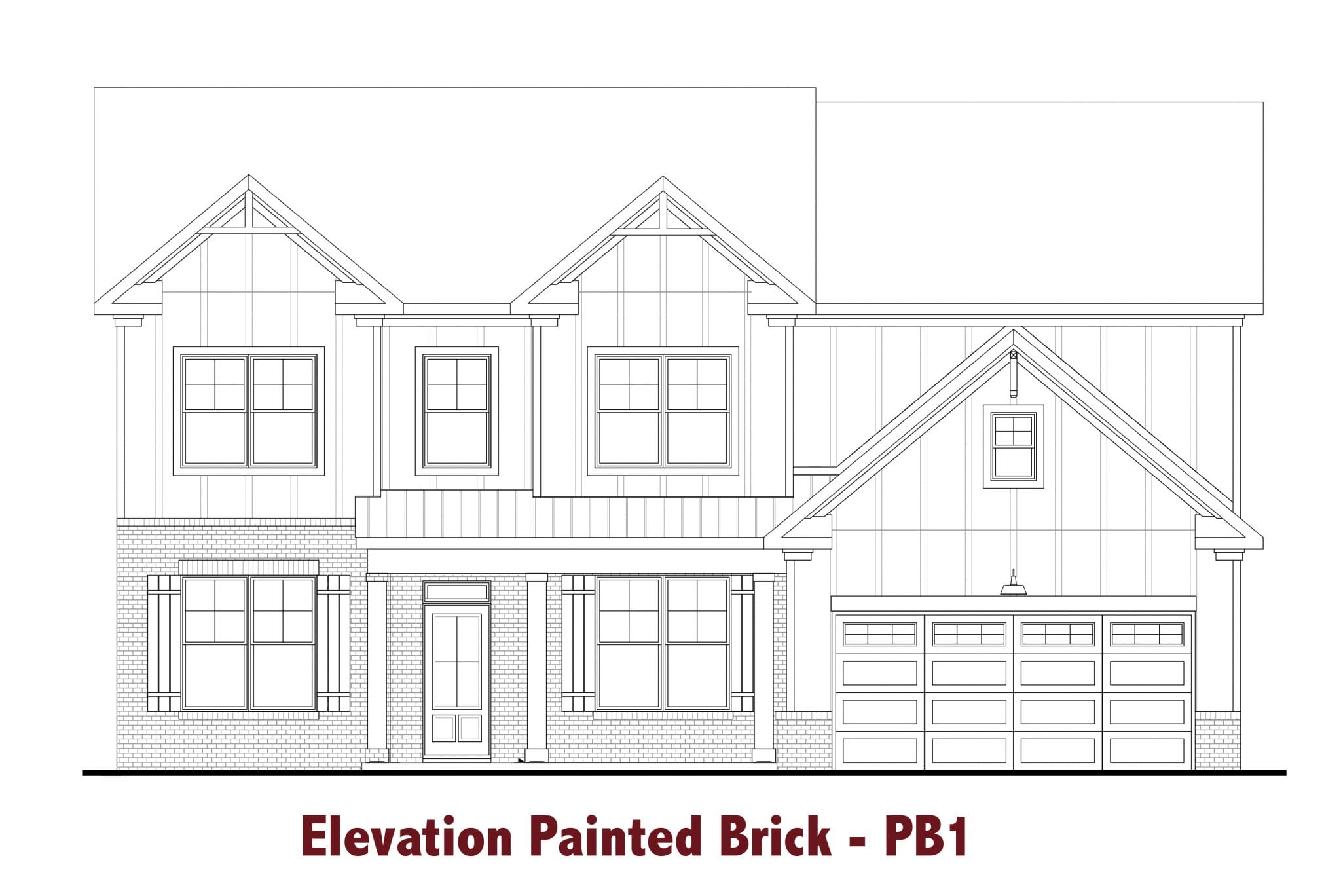 Brunswick-I elevations Image